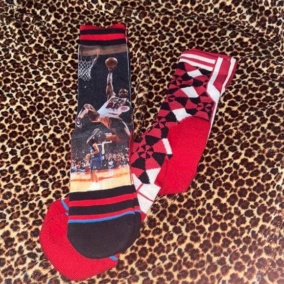 Set of basketball socks